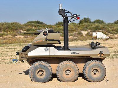 Jaguar: новий патрульний робот на кордоні Ізраїлю