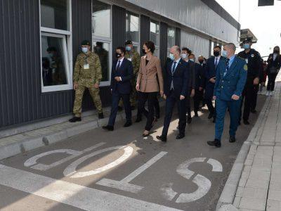 Голова Верховної Ради України та Спікер Сеймасу Литви відвідали КПВВ «Чонгар» і «Каланчак» на адмінмежі з Кримом