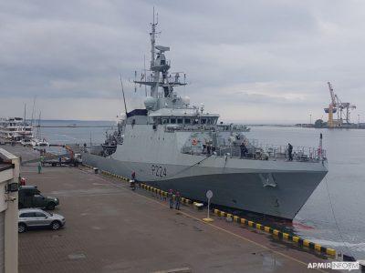 До порту Одеси зайшов корабель флоту Великої Британії «Трент»
