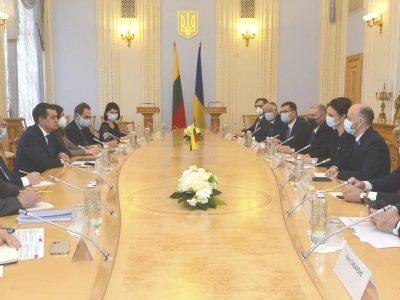 Реакція партнерів України, зокрема Литви, допомогла стабілізувати ситуацію на кордоні нашої держави – Дмитро Разумков