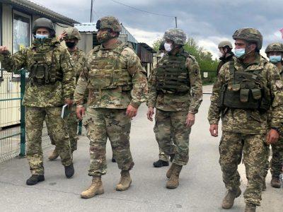 Район проведення ООС відвідали військові дипломати Посольства США в Україні