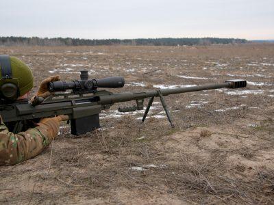 Вітчизняні снайперські гвинтівки презентують іноземним замовникам