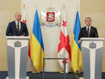 Прем'єри України та Грузії обговорили спільні загрози й виклики з боку РФ