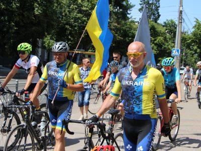 Учасники ветеранського велопробігу вже у Вінниці