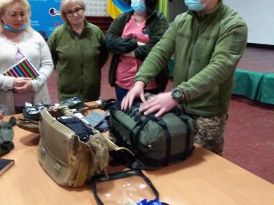 У Військово-медичному клінічному центрі Східного регіону відбулися практичні заняття з тактичної медицини