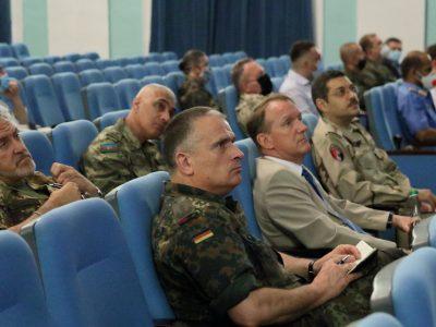 Представників військово-дипломатичного корпусу ознайомили зі станом розвитку ЗС України та ситуацією в ООС