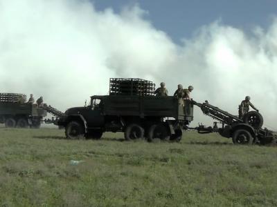 Біля Криму тренувалися облаштовувати мінно-вибухові загородження військові інженери