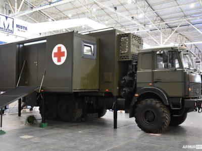 В Україні створили мобільний медичний кабінет-трансформер