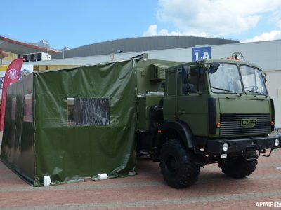 В Україні представили комплекс, який дозволяє перевірити психологічну готовність взводу перед боєм