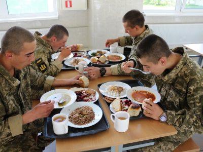 Як харчуються військові з Гончарівського