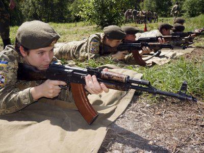 Харківські кадетки вперше в історії закладу виконали бойові стрільби