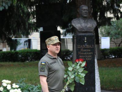 У ВІТІ вшанували пам'ять загиблого випускника інституту Героя України Максима Шаповала
