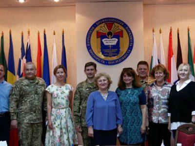 У рамках міжнародної програми обміну студентів український військовий виш відвідали представники Болгарії