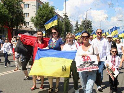 У Маріуполі відбувся Марш українських сил