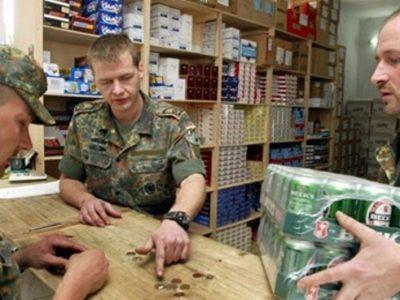 Німецькі війська виходять з Афганістану з 65 тисячами банок пива