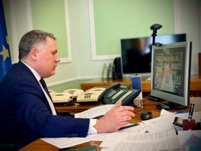 Ігор Жовква обговорив із заступником держсекретаря офісу Прем'єр-міністра Ірландії безпекову ситуацію на Донбасі та європейські перспективи України