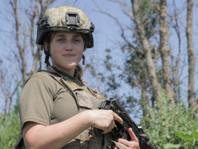 Леся – командир ВОПу на передовій