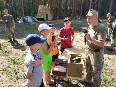 На Полтавщині розпочав роботу дитячий Всеукраїнський військово-патріотичний табір