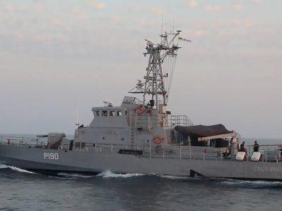 Корабельна група ВМС ЗС України здійснила перехід морем та ошвартувалася у грузинському порту Поті