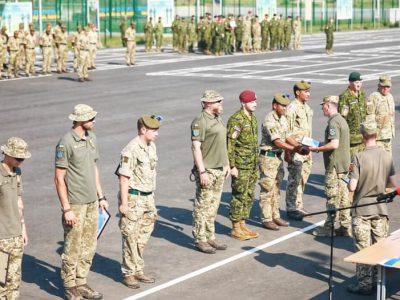 Завершилися перші українсько-британські військові навчання «Козацька булава»