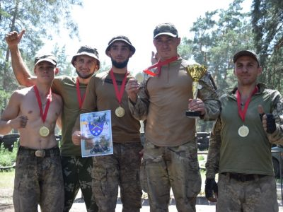 Гарнізонні змагання «Сталева міць» відбулися на Дніпропетровщині