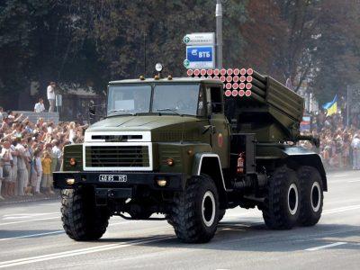 БМ-21 «Град» на автошасі КрАЗ успішно пройшли всі етапи випробувань