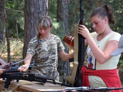 На Полтавщині відбувся Всеукраїнський військово-патріотичний табір «Діброва»