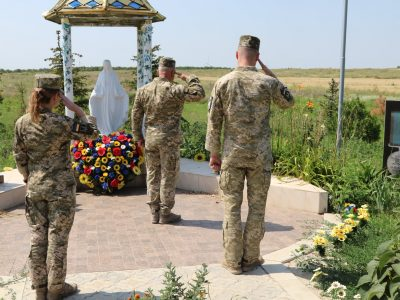 Військовослужбовці ССО Об'єднаних сил вшанували пам'ять побратимів, які загинули 2014 року під Слов'янськом