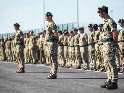 """Церемонія закриття перших міжнародних українсько-британських військових навчань """"Козацька булава – 2021"""""""