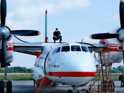 Пожежні літаки ДСНС прибули до Туреччини для гасіння масштабних лісових пожеж