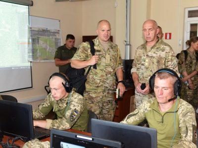 Військовослужбовці Королівства Данії проінспектували, як навчаються українські військові у межах місії ORBITAL