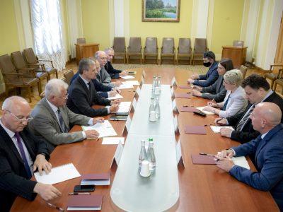 Роман Машовець і американський аташе з питань оборони обговорили підготовку візиту Президента України до США