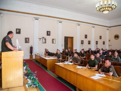 В НУОУ розпочато навчання на Курсах професійної військової освіти осіб офіцерського складу ЗС України
