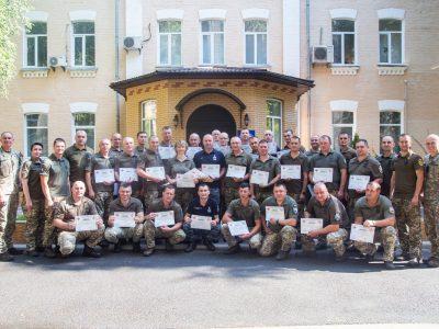 У Національному університеті оборони України завершено Курс лідерства вищого рівня для сержантського і старшинського складу