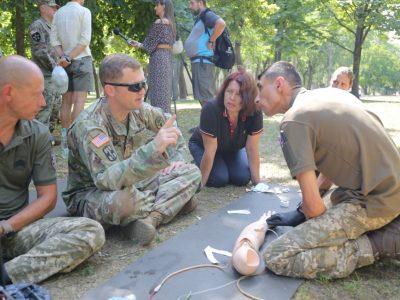Сімох військовиків ЗСУ відібрали для участі у міжнародному змаганні на здобуття відзнаки «Експерт польової медицини»