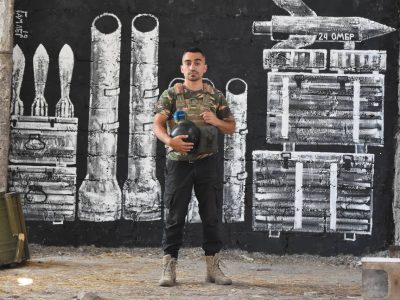 «Моє рідне місто – в окупації. Я був солдатом і нині їжджу на фронт»