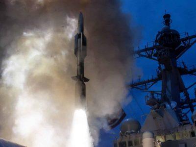 Есмінець США успішно знищив балістичні цілі