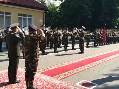 До Командування Сухопутних військ України прибула делегація Народної республіки Бангладеш