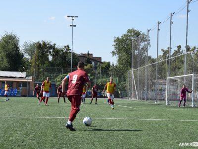 Полтавці та харків'яни виборювали першість у рамках змагань ВсеукраїнськоїФутбольної Ліги учасників АТО