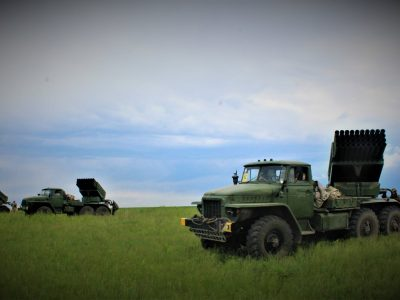 У районі проведення ООС перевірили бойову готовність підрозділів реактивної артилерії