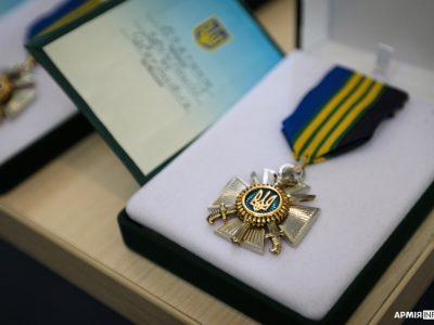 Командувач об'єднаних сил Збройних Сил України нагородив журналістів