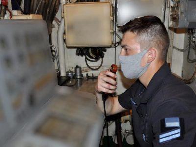 Майбутні флотські офіцери пройшли корабельну практику