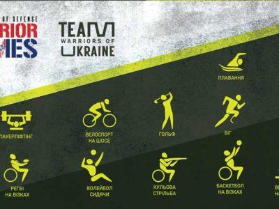 Україна вперше візьме участь у змаганнях Warrior Games, які відбудуться в США