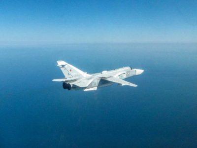 Британські винищувачі перехопили російський Су-24 біля Румунії