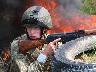 Дим, вогонь, болото і знесилення, або Як проходять підготовку львівські першокурсники