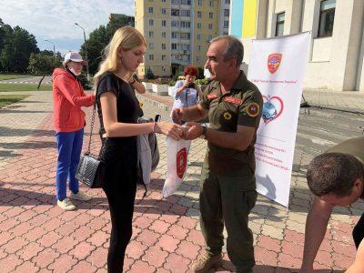Ветерани-розвідники вручили «Батьківське серце» дітям загиблих захисників України