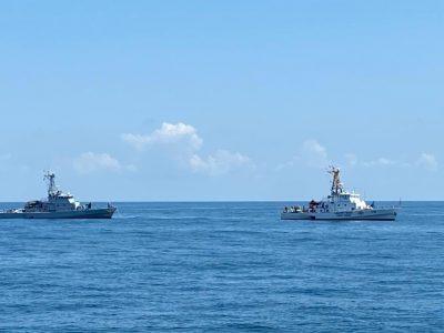 Українські військові моряки разом з грузинськими колегами провели навчання типу PASSEX