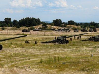В Сухопутних військах ЗСУ визначають найкращих артилеристів