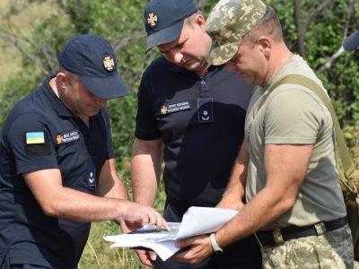 Військові зі складу Об'єднаних сил взяли участь у командно-штабному навчанні з цивільного захисту населення