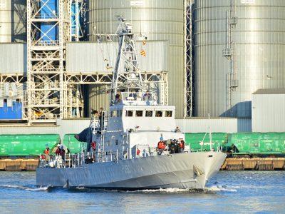 В Одесі зустріли військових моряків, які повернулися з міжнародних навчань Agile Spirit – 2021